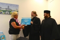 Ortodoksinen diakonia ry:lle 2500e lahjoitus